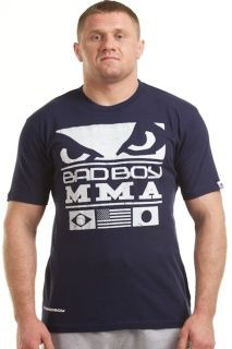 "Футболка ""Bad Boy Mma Tee Navy"" купить"