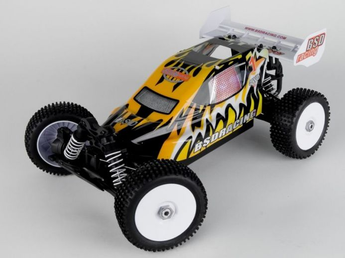 Радиоуправляемый багги BSD Racing Off-Road Buggy, OS.18+autostart, Waterproof 4WD RTR 2.4G RNC-0027-03 купить