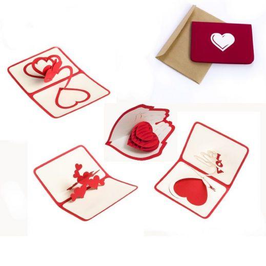 Объемная открытка с сердцем в ...: ideipodarkov.net/obemnaya-otkrytka-s-serdcem-v-assortimente-777282...