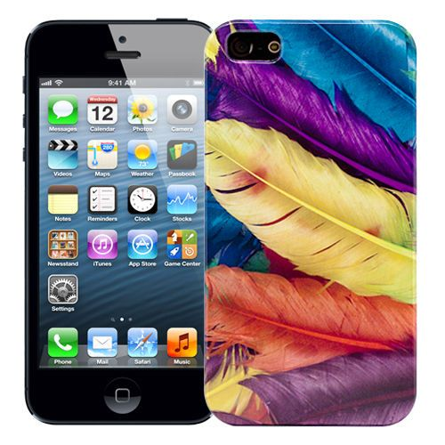 "Чехол для iPhone 5/5s ""Swan feathers"" купить"