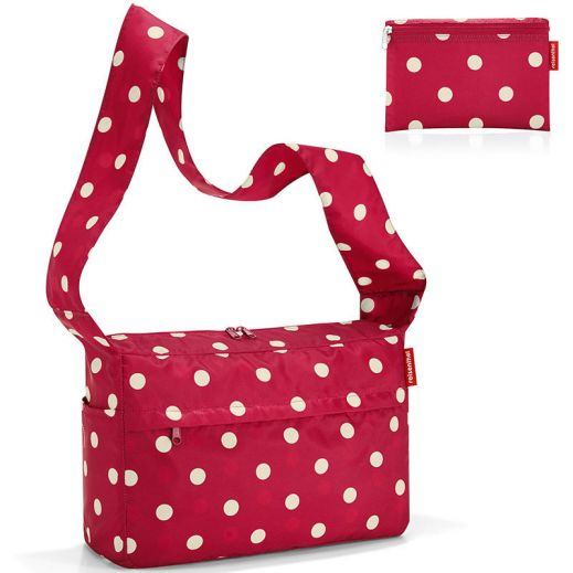 Сумка складная Mini maxi citybag ruby dots купить