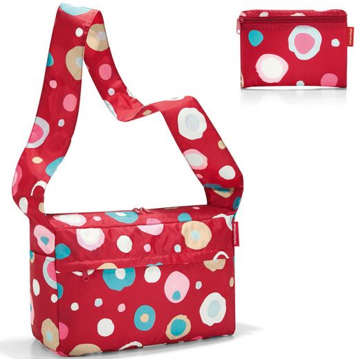 Сумка складная Mini maxi citybag funky dots 2, полиэстер купить