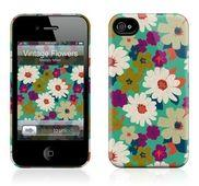 Чехол для iPhone 4,4S Gelaskins Vintage Flowers купить