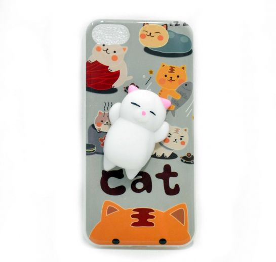 Чехол антистресс для iPhone 6/6 Plus Cat купить